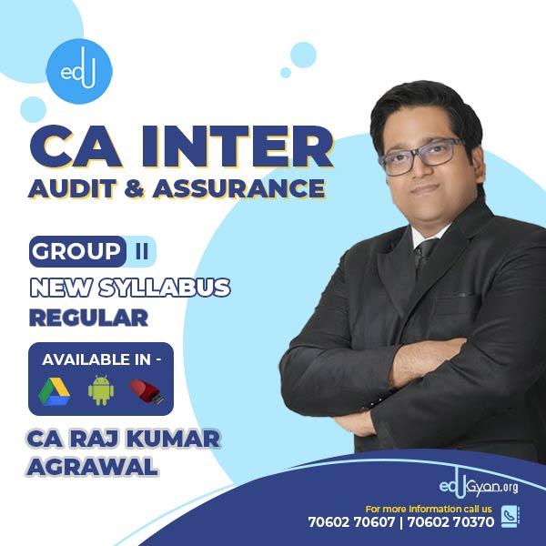 CA Inter Audit & Assurance By CA Raj K Agrawal