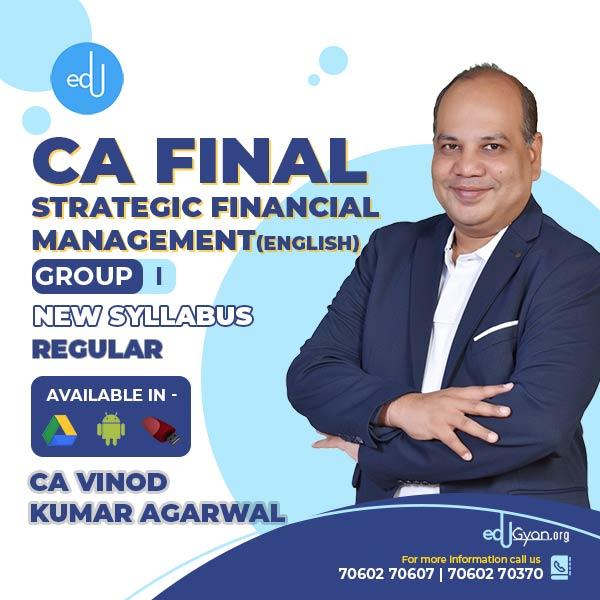 CA Final Strategic Financial Mgt. By CA Vinod Kumar Agarwal