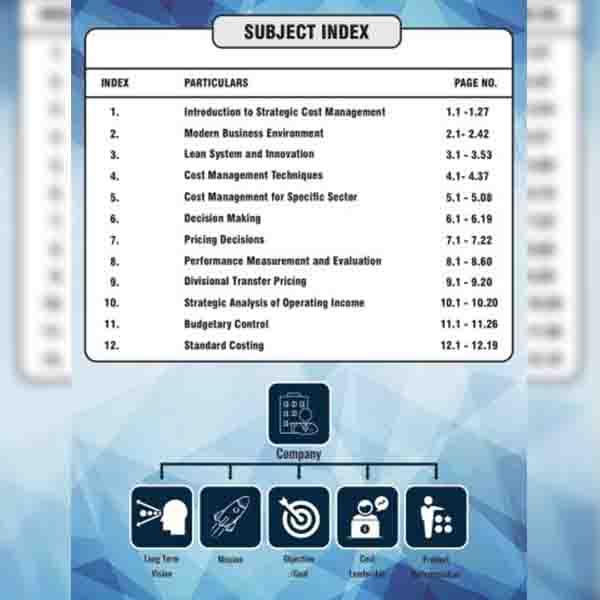 CA Final SCMPE (Optimised 5.0) Book By CA Sankalp Kanstiya
