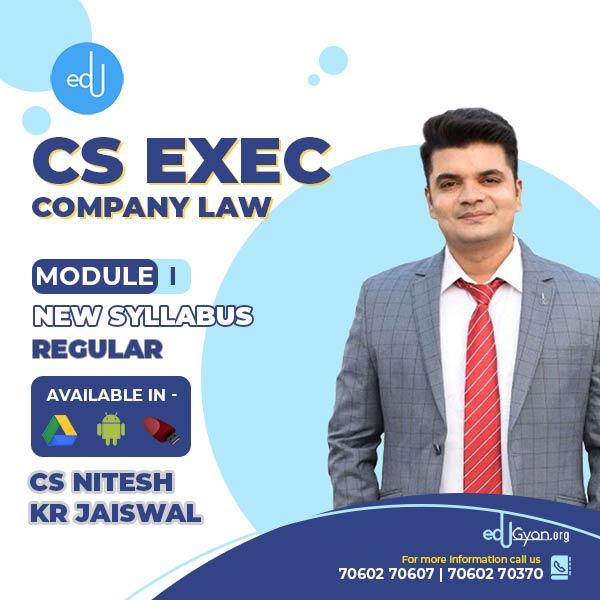 CS Executive Company Law