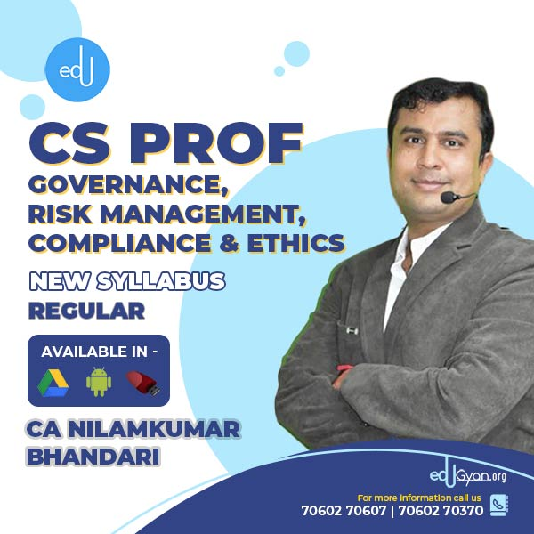 CS Professional Governance