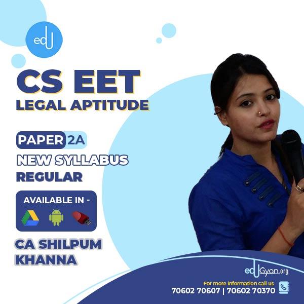 CSEET Legal Aptitude By CA Shilpum Khanna