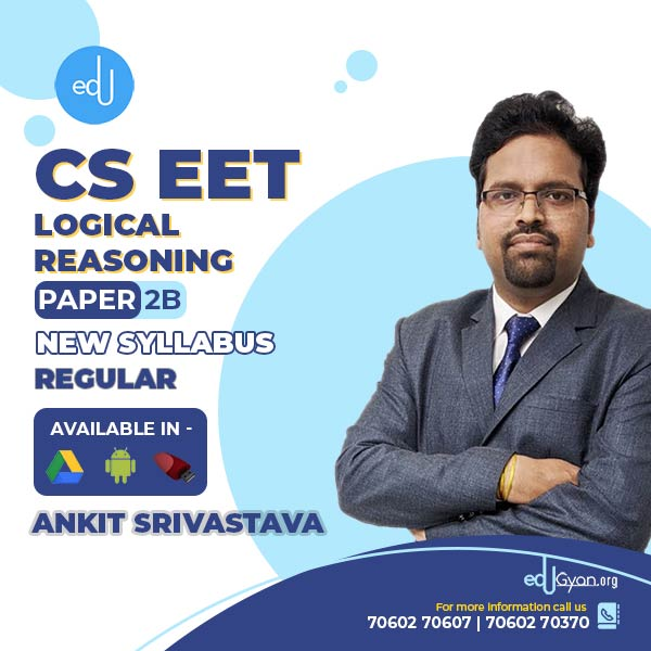 CSEET Logical Reasoning By Ankit Srivastava