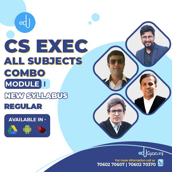 CS Executive Module- I Combo By Inspire Academy