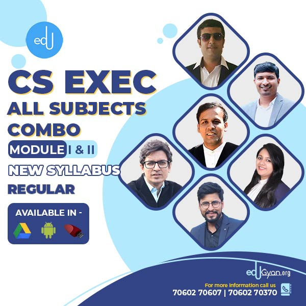 CS Executive Module- I & II Combo By Inspire Academy