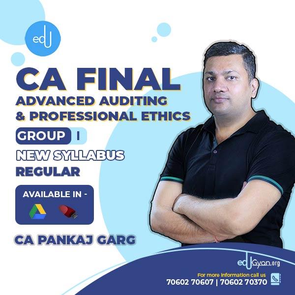 CA Final Advanced Auditing By CA Pankaj Garg