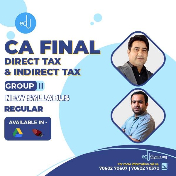 CA Final DT & IDT Combo By CA Bhanwar Borana & CA Rajkumar