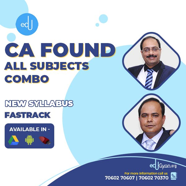 CA Foundation All Subjects Combo By AKN Classes