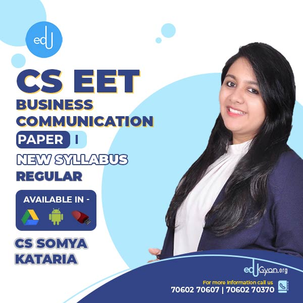 CSEET Business Communication By CS Somya Kataria