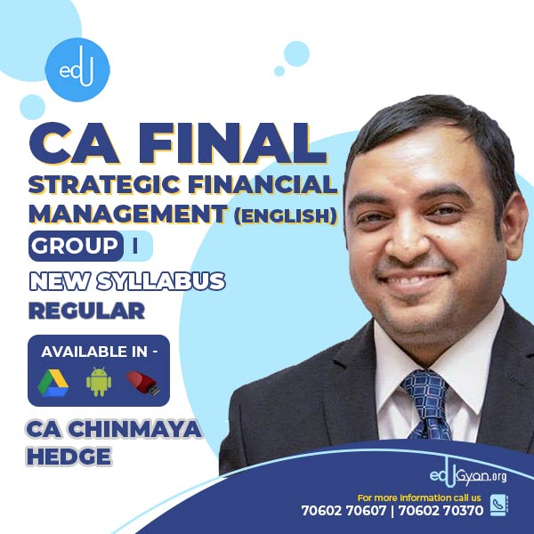CA Final Strategic Financial Management By CA Chinmaya Hedge (English)