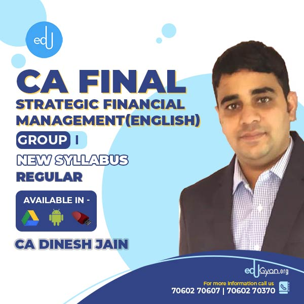 CA Final Strategic Financial Management By CA Dinesh Jain (English)