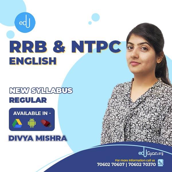 English for Railway (RRB) & NTPC By Divya Mishra