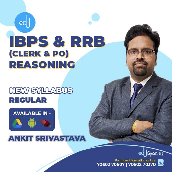 Reasoning for Banking- IBPS & RRB (Clerk & PO) By Ankit Srivastava