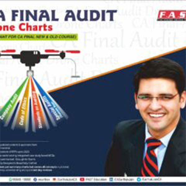 CA Final – Audit Books Latest Set of all Books for Audit BY Sarthak Jain