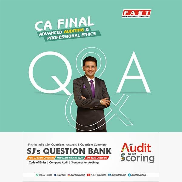 CA Final Audit Latest Question Bank for Audit BY CA Sarthak Jain