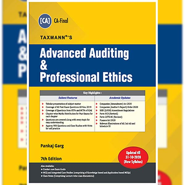 CA Final Advanced Auditing & Professional Ethics Main Book By CA Pankaj Garg