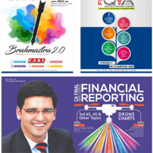 CA Final – Full Set of Books for FR Latest Batch BY CA Sarthak Jain