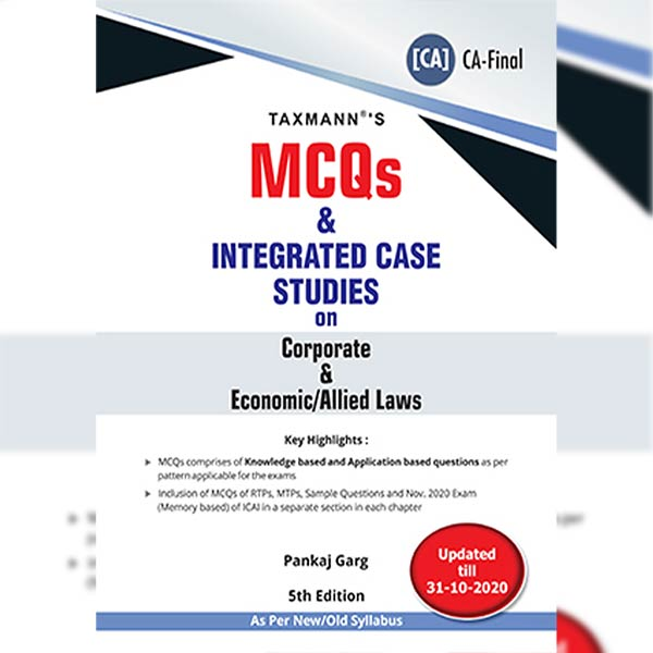 CA Final Corporate & Economic Laws MCQ By CA Pankaj Garg