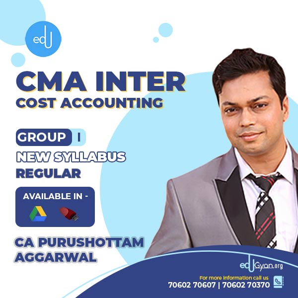 CMA Inter Cost Accounting