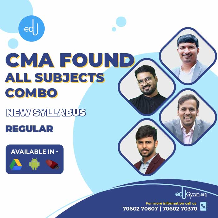 CMA Foundation All Subjects Combo By Inspire Academy