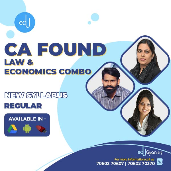 CA Foundation Law & Economics Combo By Swapnil Patni Classes