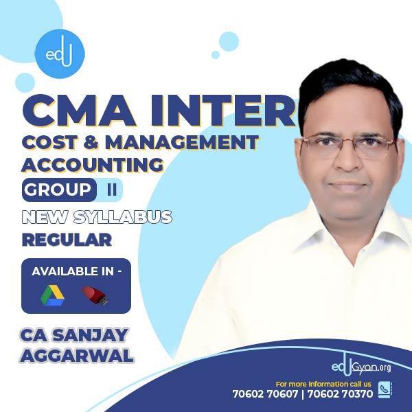 CMA Inter Cost & Management Accounting By CA Sanjay Aggarwal