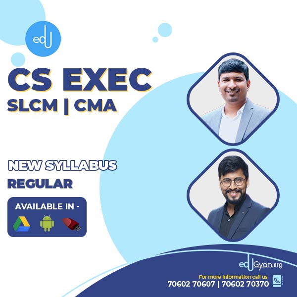 CS Executive Combo - (SLCM + CMA ) By Prof Raj Awate & CA CS Shubham Shukhlecha