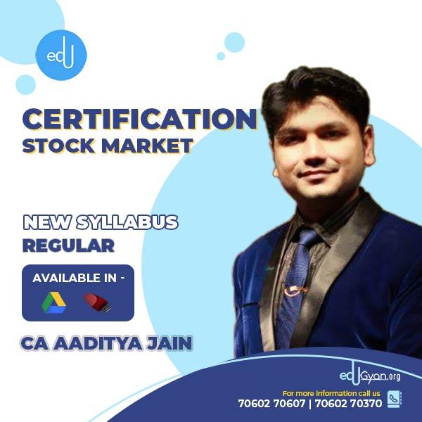 Stock Market Course By CA Aaditya Jain