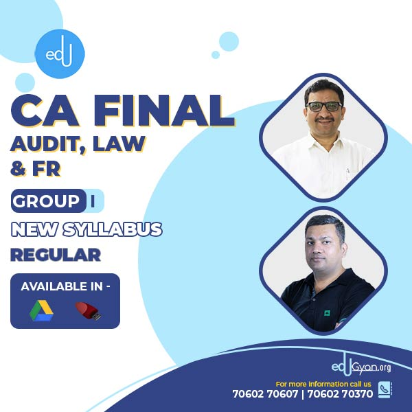 CA Final Audit & FR & Law Combo By CA Parveen Sharma & CA Pankaj Garg