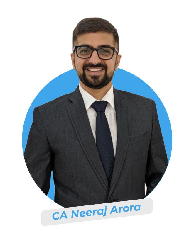 CA Neeraj Arora