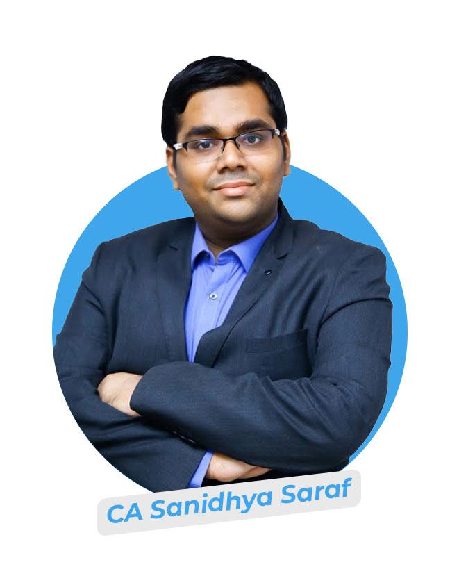 CA Sanidhya Saraf