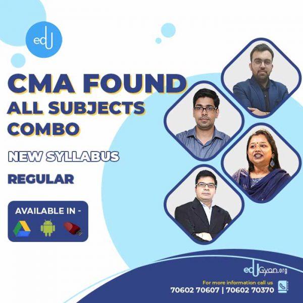 CA Foundation All Subjects Combo By CA Darshan Khare & CA Jai Chawla & CA Karan Chandwani & CA Pavan Gahukar