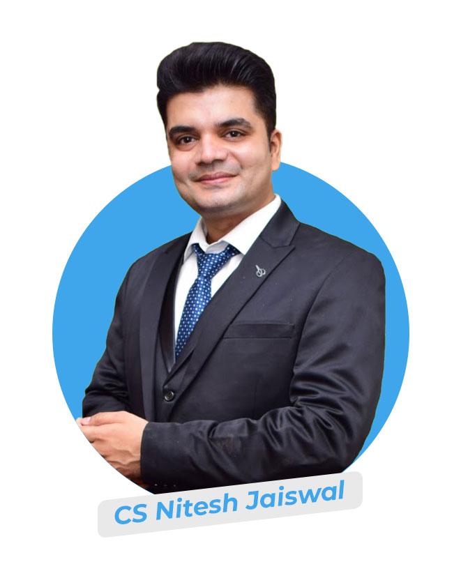 CS Nitesh Jaiswal