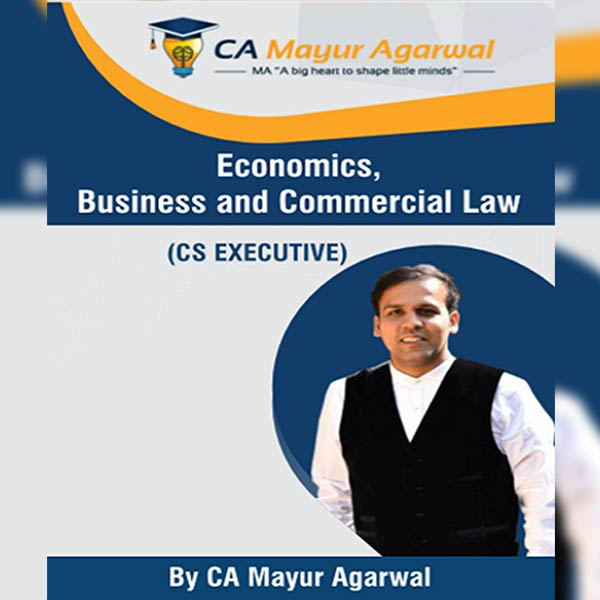 CS Executive Economic, Business and Commercial Laws Book By Mayur Agarwal