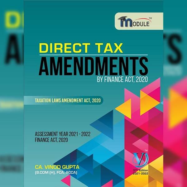 CA Final DT Amendment Book By CA Vinod Gupta
