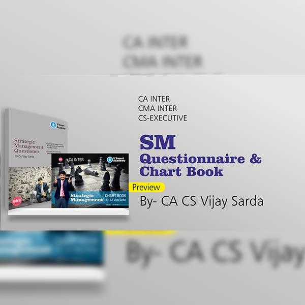 CA Inter Strategic Management Questionnaire & Chart Book By CA CS Vijay Sarda