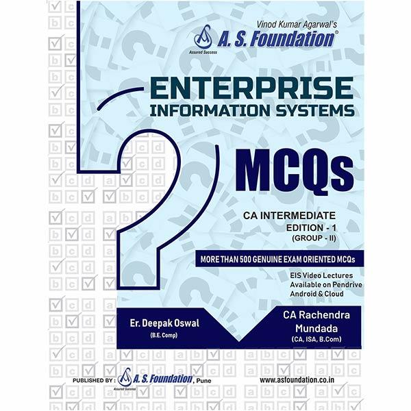 CA Inter EIS MCQ Book By Er Deepak Oswal