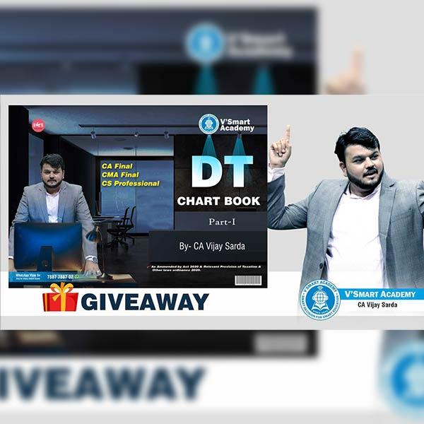CA Final DT Chart Book By CA CS Vijay Sarda