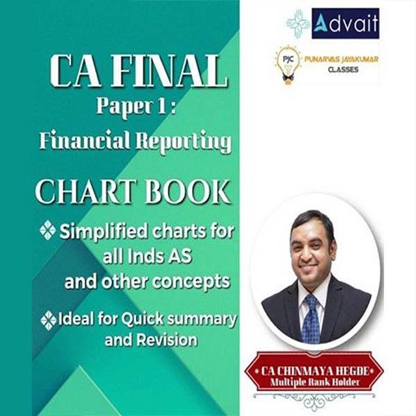 CA Final Financial Reporting (FR) Chart Book By CA Chinmaya Hegde