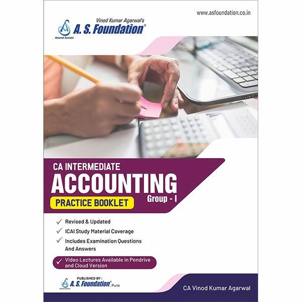 CA Inter Account Practise Booklet Book By CA Vinod k Agarwal