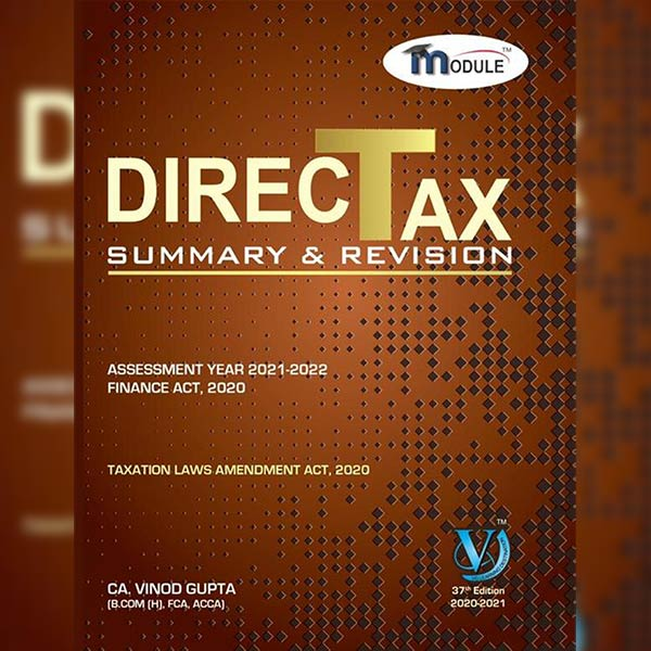 CA Final DT Summary Book By CA Vinod Gupta