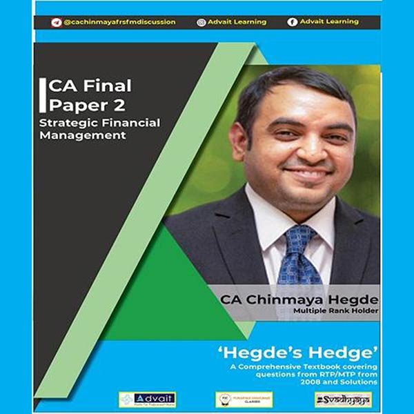 CA Final SFM Comprehensive Book Set By CA Chinmaya Hedge