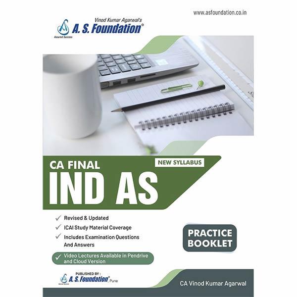 CA Final Ind AS Practice Booklet By CA Vinod K Agarwal