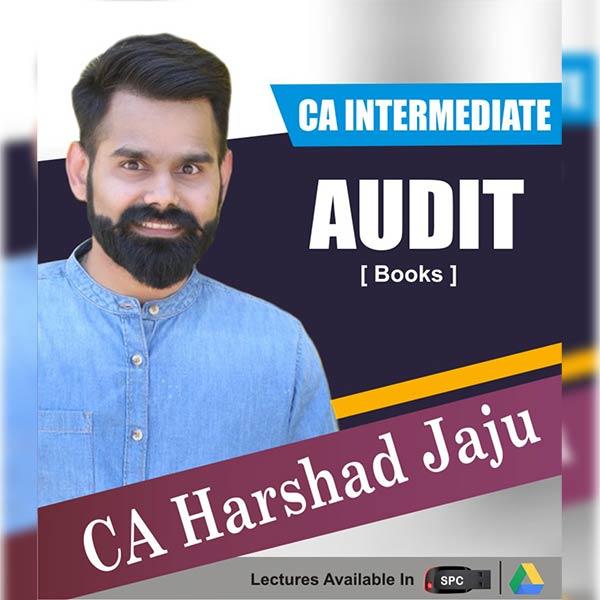 CA Intermediate Group II Auditing and Assurance Books By CA Harshad Jaju