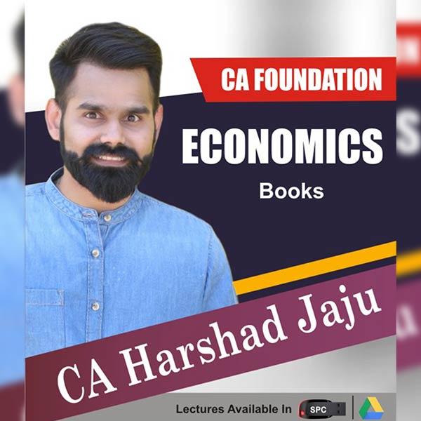 CA Foundation Economics Books By CA Harshad Jaju