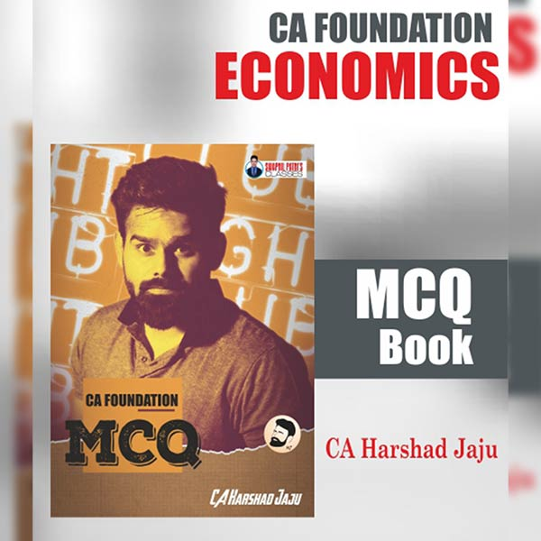 CA Foundation Economics MCQ Book By CA Harshad Jaju