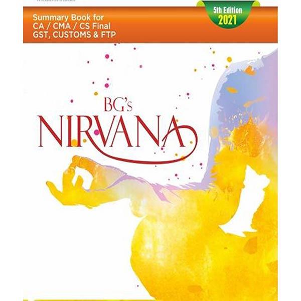 CA Final Nirvana Summary Book By Brindavan Giri
