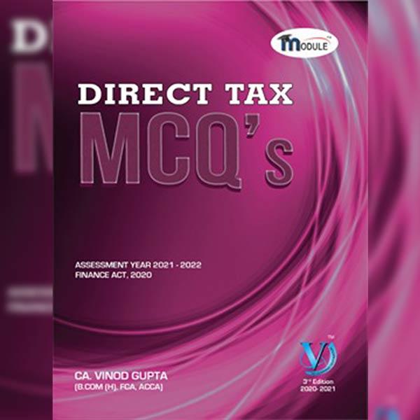 CA Final DT MCQ Book By CA Vinod Gupta