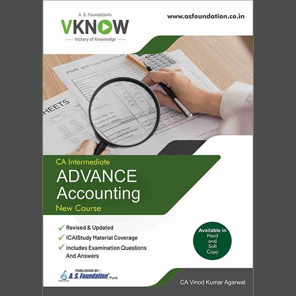 CA Inter Advance Accounting Book By CA Vinod k Agarwal