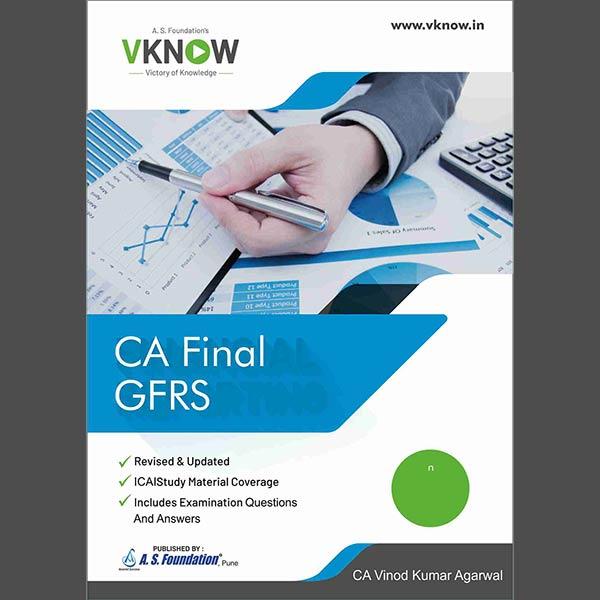 CA Final GFRS Book By CA Vinod K Agarwal